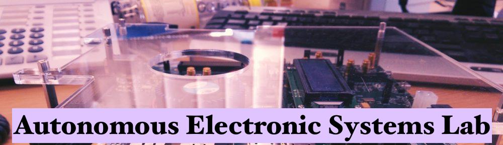 Autonomous Electronic Systems