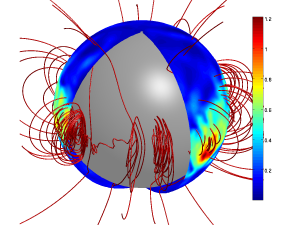 The magnetic field of a neutron star